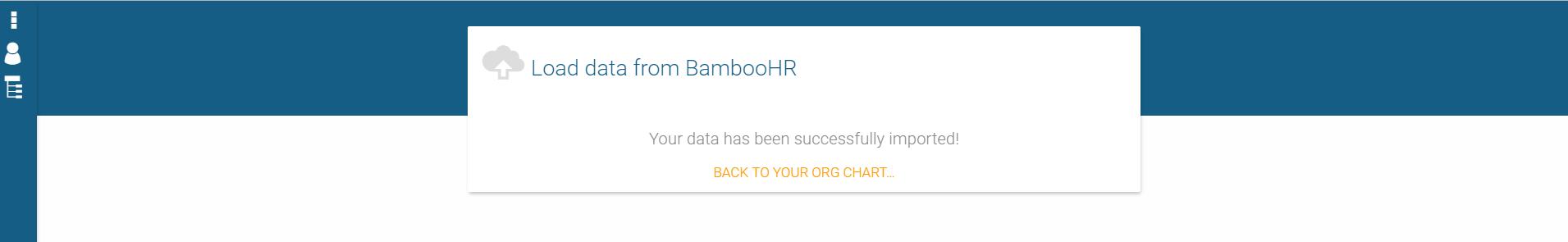 Finish BambooHR data import